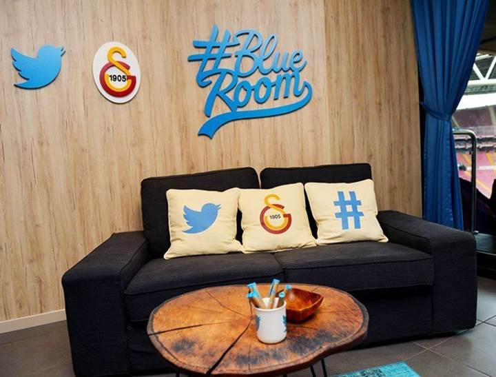 Galatasaray ve Twitter'dan Türkiye'de bir ilk: Blue Room locası