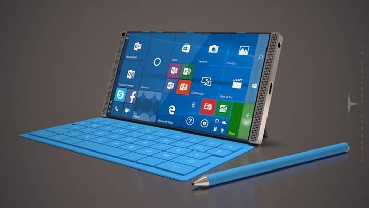 Microsoft premium bir cihazla mobil sektöre geri dönüyor