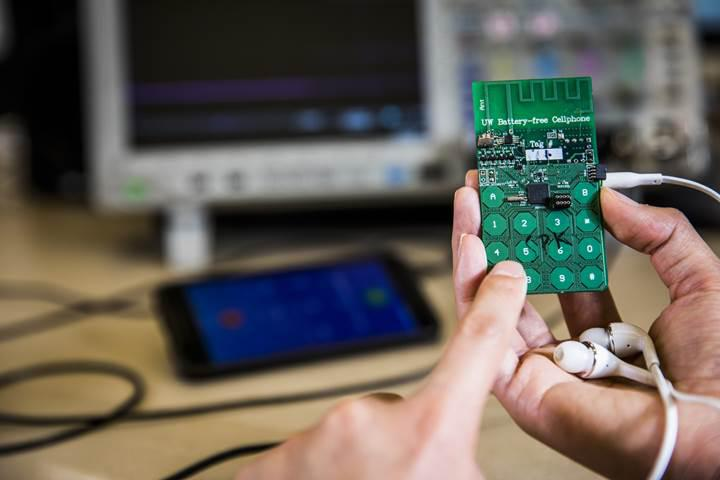 Araştırmacılar bataryasız telefon prototipi geliştirdi