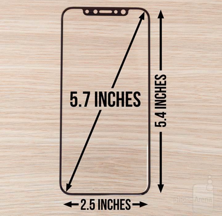 iPhone 8'in ekran koruyucusu, telefon hakkında ipucu veriyor