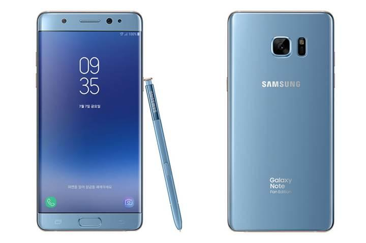 Yenilenmiş Samsung Galaxy Note 7'de işler yolunda