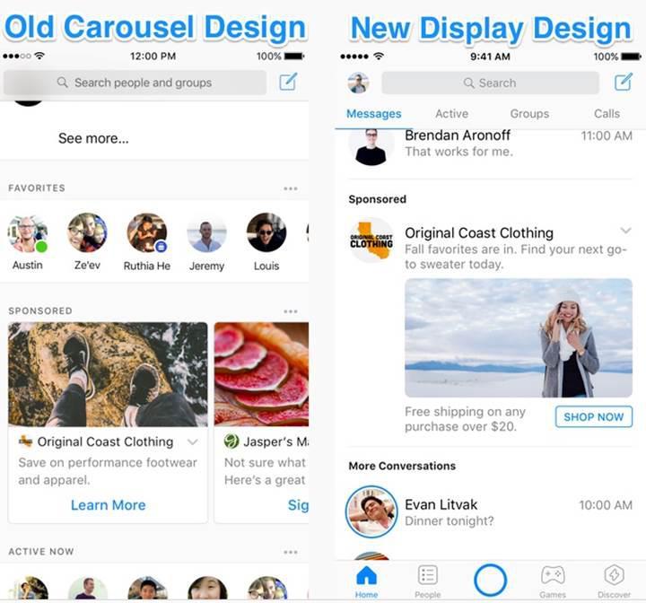 Facebook, Messenger sohbetlerinin arasına reklam yerleştirecek