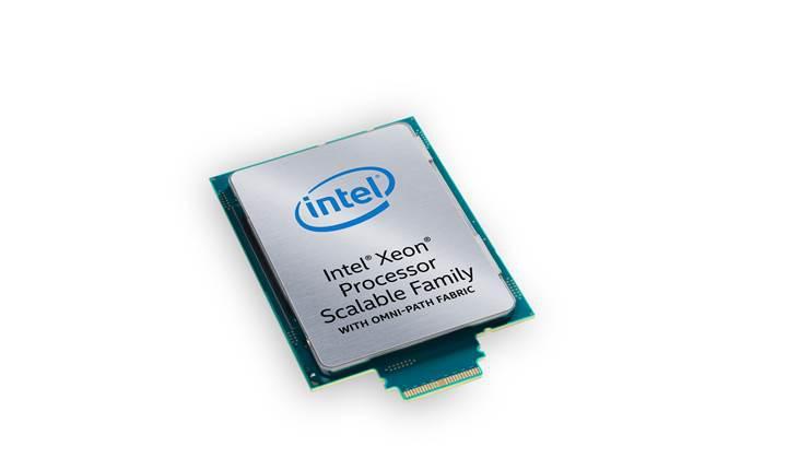 Intel Xeon Ölçeklenebilir İşlemcileri piyasaya sunuyor