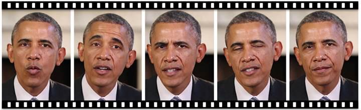 Yapay zeka sahte Obama videosu oluşturdu