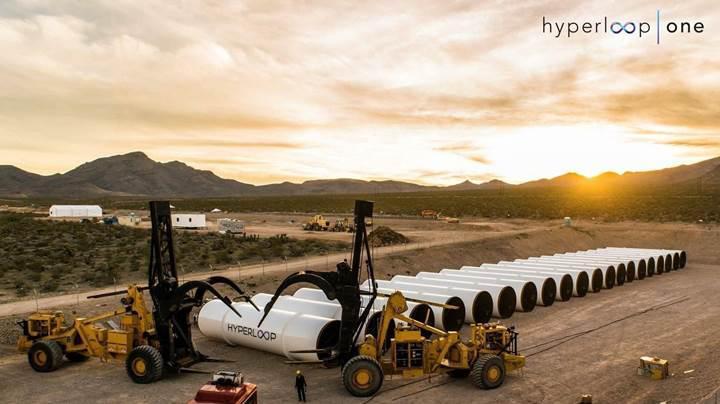 Hyperloop gerçek ölçekli ilk testi başarıyla tamamladı