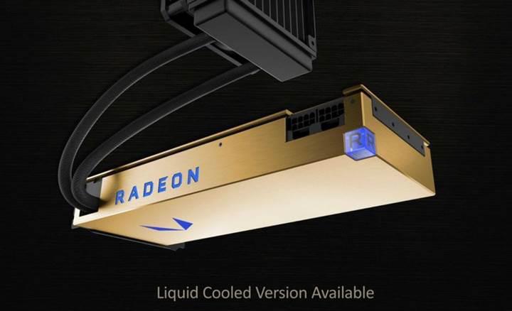 RX Vega Frontier Edition'un sıvı soğutmalı versiyonu satışta