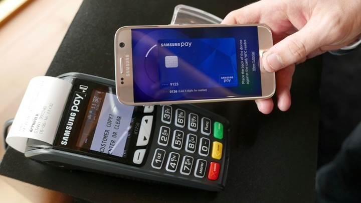 Samsung Pay'e Paypal'la ödeme seçeneği eklendi