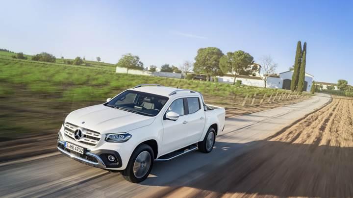 Mercedes'in ilk pickup modeli tanıtıldı: X-Class