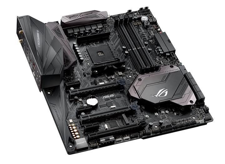 AMD Ryzen için çılgın anakart: Asus Crosshair VI Extreme