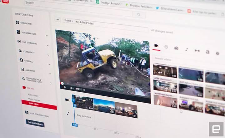 YouTube, video düzenleyicisini kullanımdan kaldırıyor