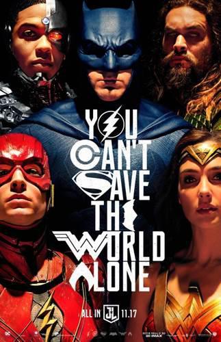 Justice League'den 4 dakikalık yeni fragman ve poster