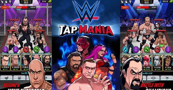 WWE Tap Mania indirmeye sunuldu