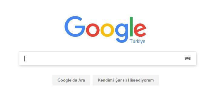 Google.com ana sayfası yenilenmeyecek