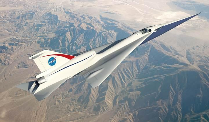 NASA sessiz süpersonik jet geliştiriyor