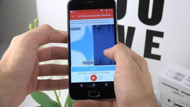 General Mobile'ın yetenekli müzik çalar uygulaması testte!