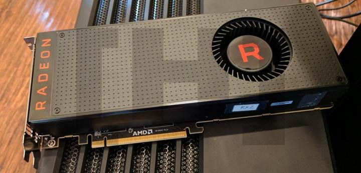 Referans tasarım RX Vega kartı görüntülendi