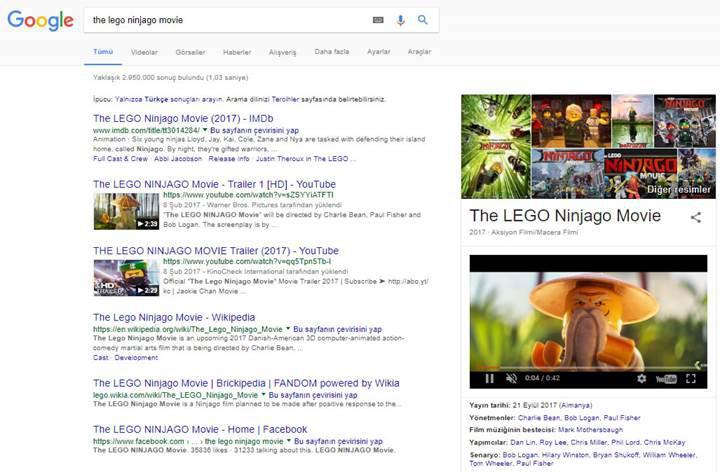 Google arama sonuçlarına sinir bozucu bir özellik ekliyor