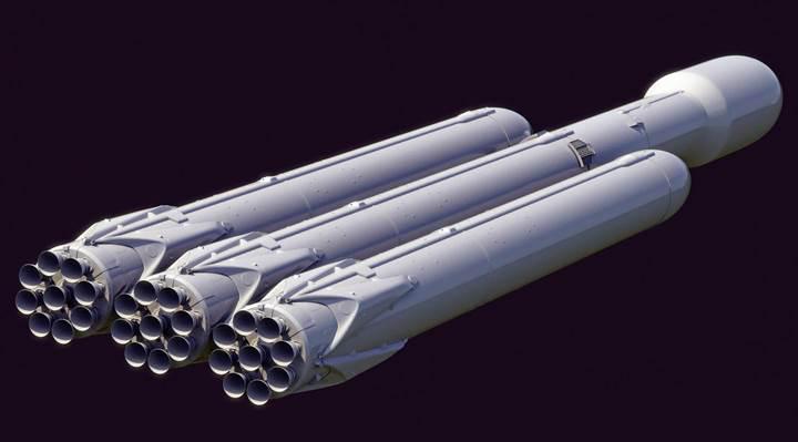 Elon Musk, dünyanın en güçlü roketi Falcon Heavy için tarih verdi