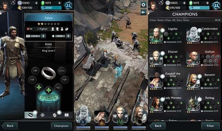 Middle-earth: Shadow of War Mobile indirmeye sunuldu