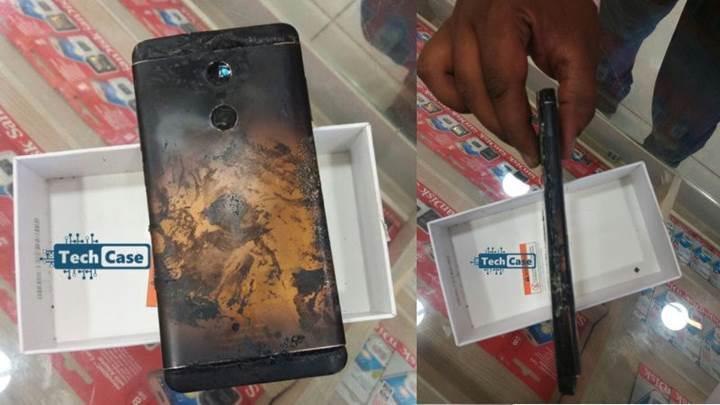 Xiaomi marka telefon SIM kart takarken patladı [video]