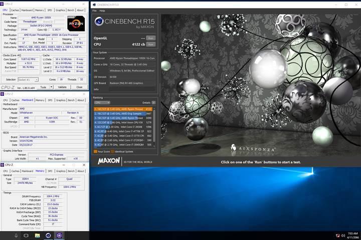 AMD'nin 16 çekirdekli Ryzen Threadripper işlemcisi 5.2GHz'e yükseltildi