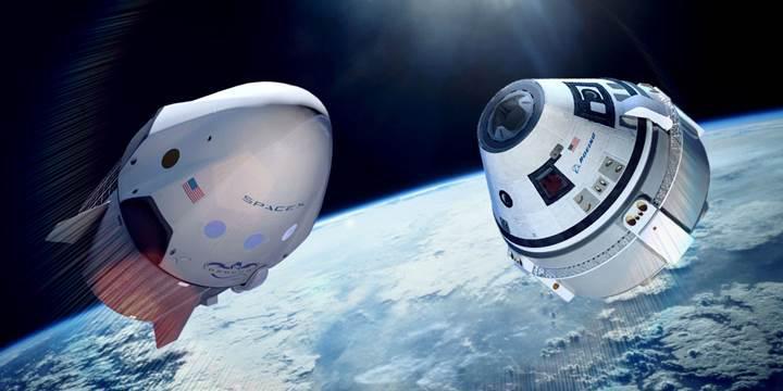 SpaceX ve Boeing, uzaya insan göndermek için birbirleriyle yarışıyor
