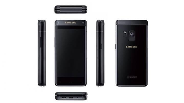 Samsung'dan yeni bir kapaklı telefon geliyor