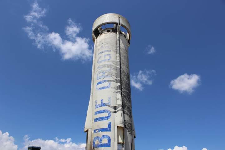 Jeff Bezos'un uzay turizmini başlatacak roketi New Shepard'a bir de böyle bakın