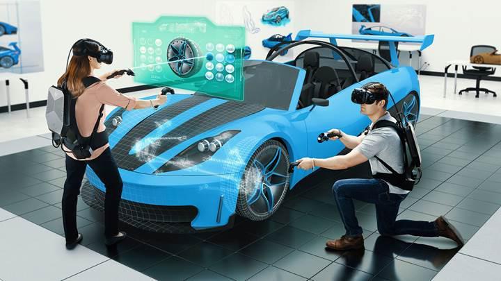 HP'den kurumlara yönelik VR sırt çantası