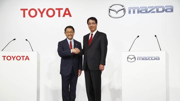 Toyota ve Mazda, ABD'de ortak fabrika kuruyor