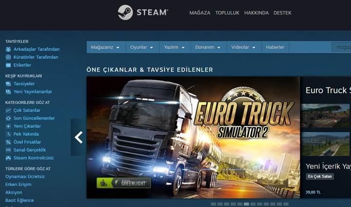 Steam her ay 1.5 milyon yeni kullanıcı kazanıyor