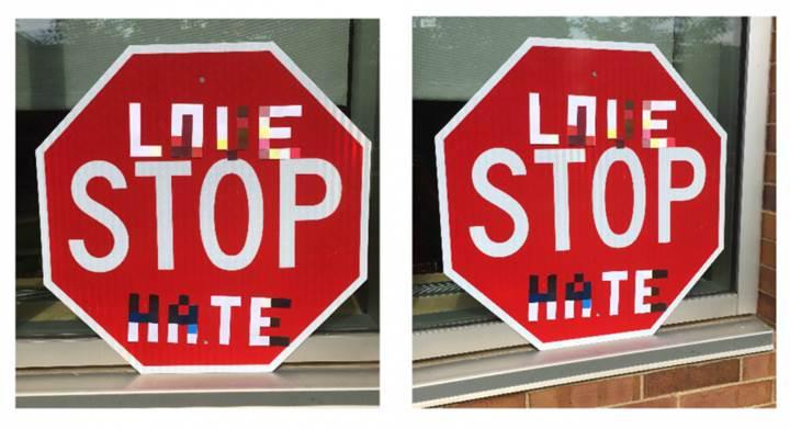 Değişen sokak işaretleri sürücüsüz araçları yanıltabilir
