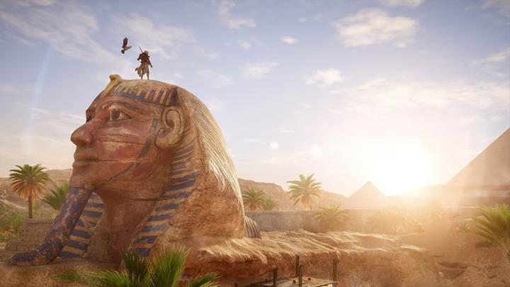 İşte dünyanın en güçlü konsolu üzerinde Assassin's Creed Origins oynanış videosu