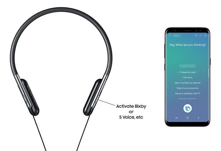 Samsung'un bükülebilir boyun bantlı U Flex kulaklığı sahneye çıktı