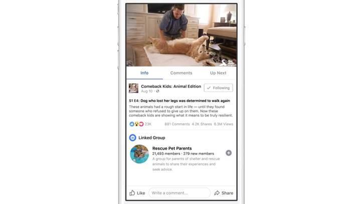 Facebook'tan YouTube'a ve Netflix'e rakip seç-izle servisi: Facebook Watch