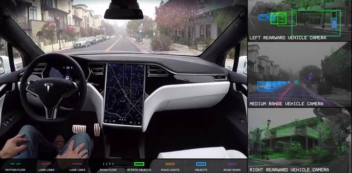 Tesla'nın yeni otomatik pilot donanımı artık çok daha etkileyici