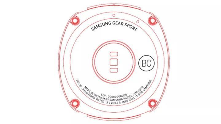 Samsung'un yeni akıllı saati Gear Sport olabilir