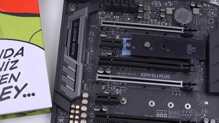 MSI X299 SLI Plus incelemesi 'Odağı belli, segmentinde hesaplı anakart'