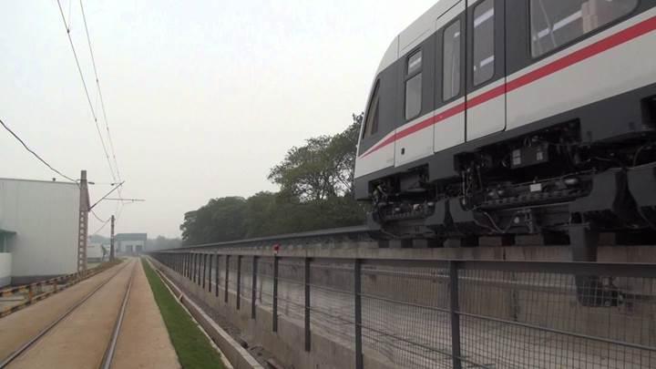 Çin orta-düşük hızlı manyetik tren testlerini  tamamladı