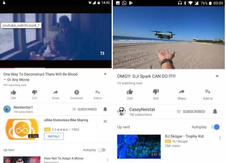 YouTube izlenme sayıları artık gerçek zamanlı oluyor