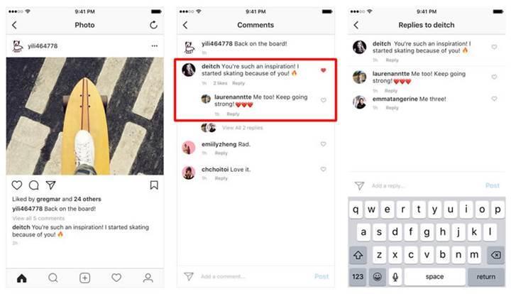Instagram yorumlarına önemli bir güncelleme geliyor