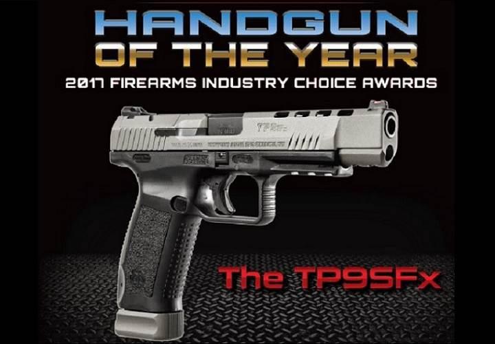 ABD'de yılın tabancası ödülünü yerli Canik TP9SFx kazandı