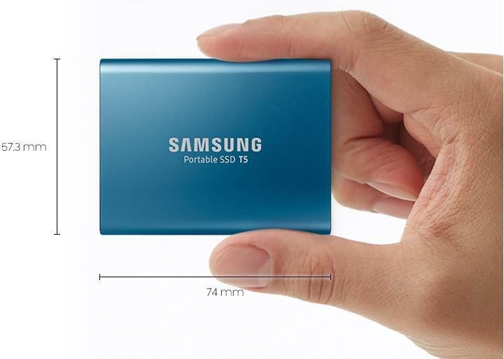 Samsung taşınabilir SSD T5 tanıtıldı