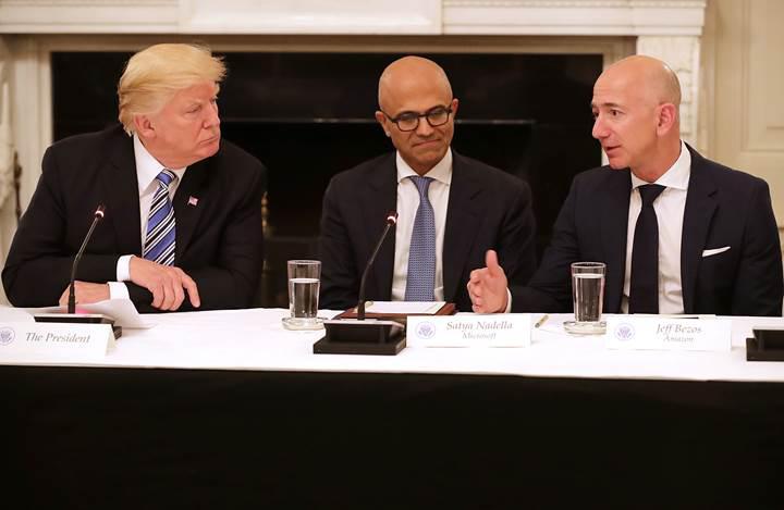 Trump tweet attı, Amazon hisseleri çakıldı