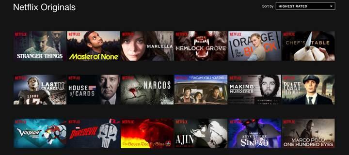 Netflix önümüzdeki yıl dizi ve filmlere 7 milyar dolar harcayacak