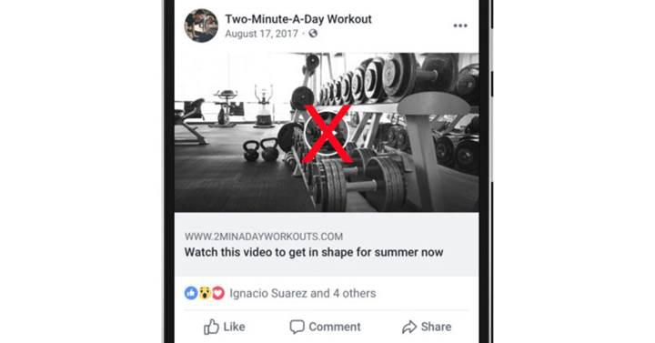Facebook, video görünümlü sahte bağlantılara darbeyi vuruyor