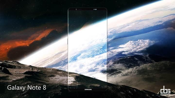 Samsung Galaxy Note 8 resmi paylaşımları başladı