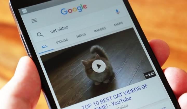 Google mobil aramalarda 6 saniyelik video önizlemeleri gösterecek