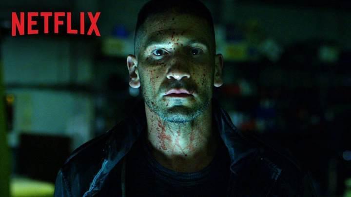 Netflix, Punisher dizisinden ilk fragmanı yayınladı
