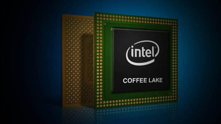 Mobil Coffee Lake işlemciler duyuruldu